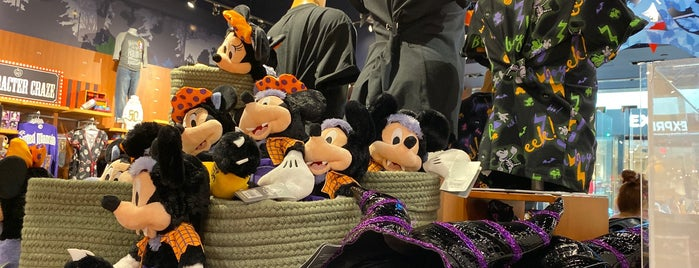 Disney store is one of Charlotte.