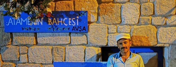 Atamer'in Bahçesi is one of Avşa.