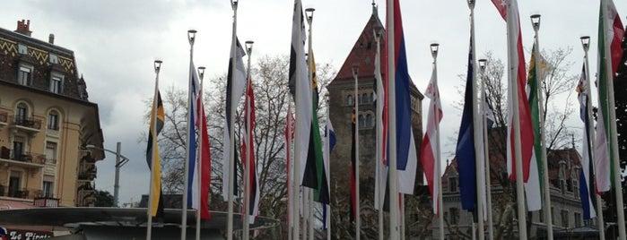 Place de la Navigation Lausanne is one of Tempat yang Disukai Alfons G..