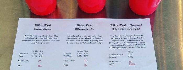 White Rock Brewing is one of Tempat yang Disimpan Dan.