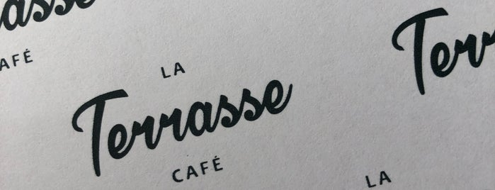 La Terrasse Cafe is one of Lugares favoritos de Fatma.