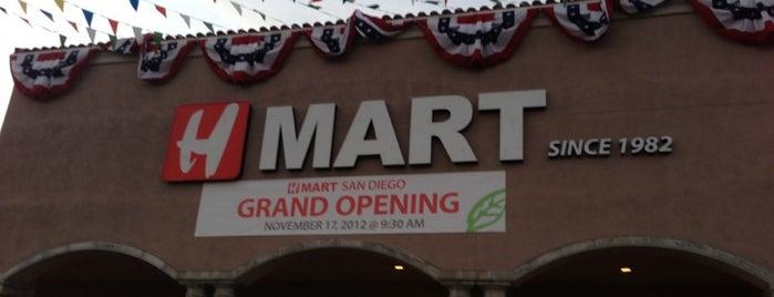H Mart is one of Orte, die Joey gefallen.