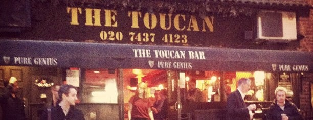 The Toucan is one of BarChick's Bars with Benefits.