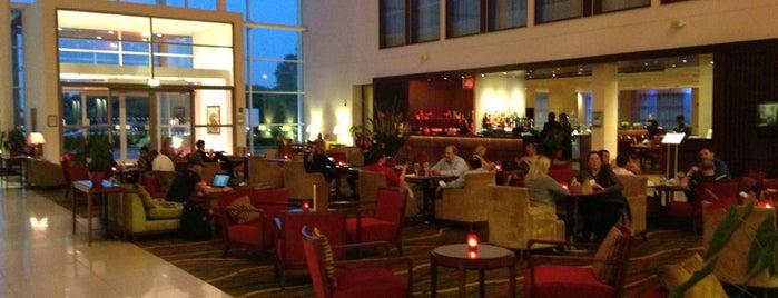 Leicester Marriott Hotel is one of สถานที่ที่ Duarte ถูกใจ.