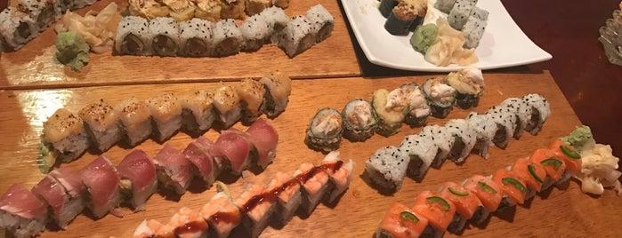 Misaki Sushi is one of Lugares guardados de Rachel.