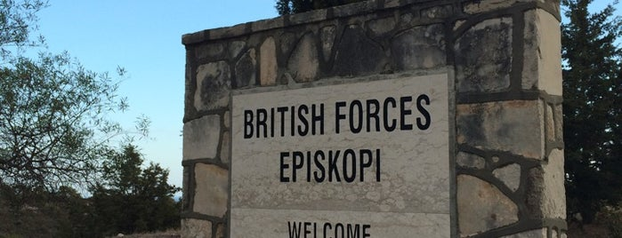 Episkopi Cantonment is one of (Sort of) Capital cities of the World.