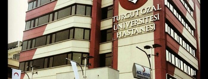 Turgut Özal Üniversitesi Beştepe Hastanesi is one of Olga 님이 좋아한 장소.
