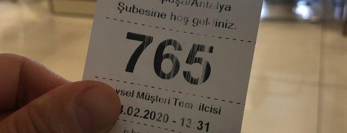 Türkiye İş Bankasi Muratpaşa Şubesi is one of ANTALYA.