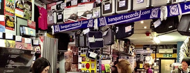 Banquet Records is one of LDN.