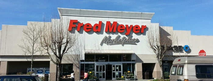 Fred Meyer is one of Chantell's Liked Places.