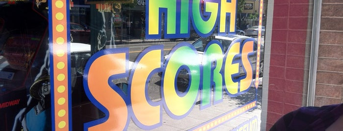 High Scores Arcade is one of Locais salvos de squeasel.