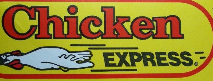 Chicken Express is one of Locais curtidos por Matt.