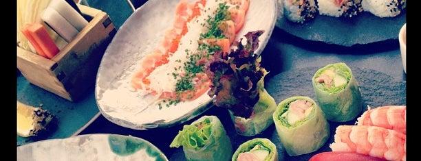 Sticks'n'Sushi is one of Copenhagen.