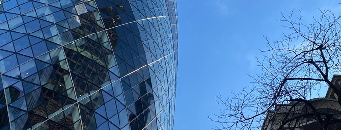 30 St Mary Axe is one of Lugares guardados de Pame.