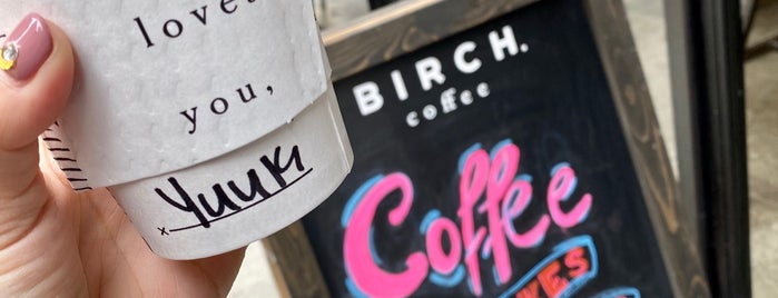 Birch Coffee is one of UES LOCAL.