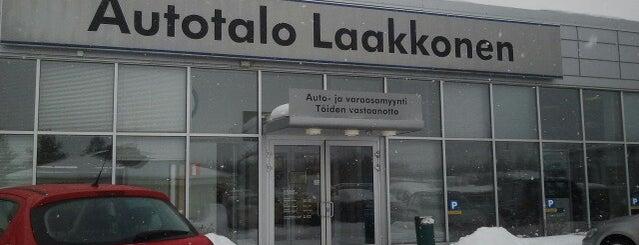 Autotalo Laakkonen is one of Orte, die Hannele gefallen.