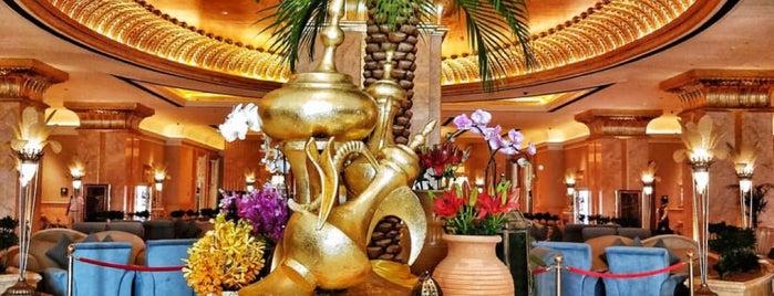 Emirates Palace قصر الإمارات is one of Abu Dhabi, United Arab Emirates.