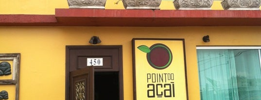 Point do Açaí is one of Fabio'nun Kaydettiği Mekanlar.