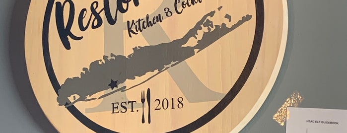 Restoration Kitchen & Cocktails is one of LI Places Bucket List:.