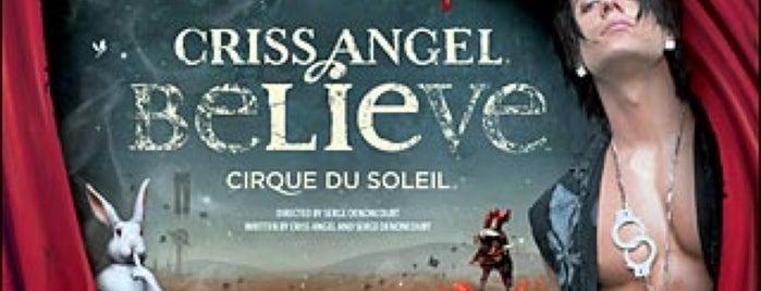 CRISS ANGEL Believe is one of Las Vegas Casino.