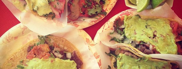 Tacos El Gordo De Tijuana is one of SD.