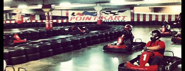 Point Kart Indoor is one of Tempat yang Disukai Tuba.