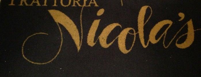 Trattoria Nicola's Rustic Italian Cuisine is one of สถานที่ที่บันทึกไว้ของ Camille.