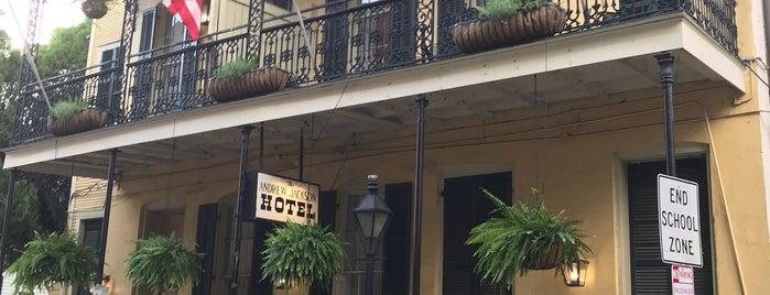 Andrew Jackson Hotel is one of Grace'nin Beğendiği Mekanlar.