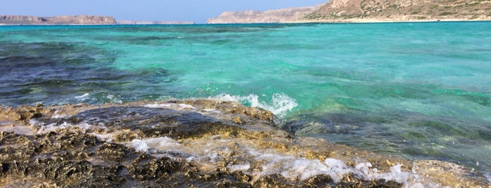 Balos Beach is one of Orte, die Marc gefallen.