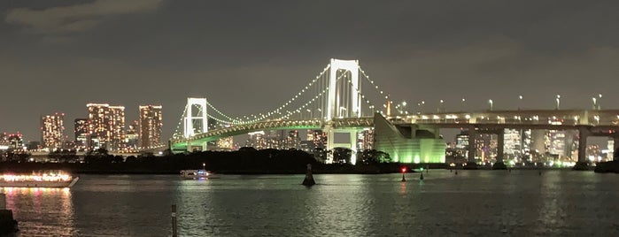 Odaiba Marine Park is one of Marc 님이 좋아한 장소.