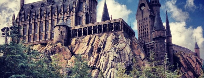 Harry Potter and the Forbidden Journey / Hogwarts Castle is one of Locais curtidos por M..