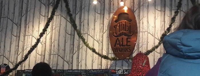 Alibi Ale Works is one of Tahoe.