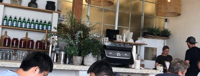 Great White is one of LA cafés/brunch spots.