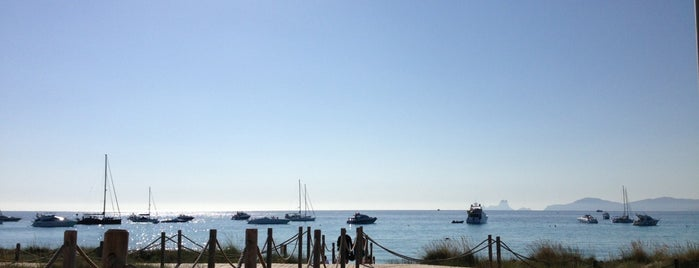Es Ministre is one of Formentera.