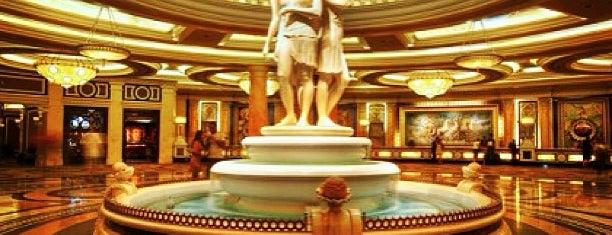 Caesars Palace Hotel & Casino is one of Vegas.