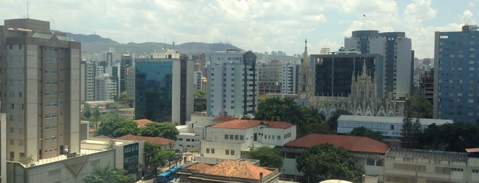 Hotel Belo Horizonte Plaza is one of Ótimos hotéis de Belo Horizonte.