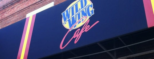 Wild Wing Cafe is one of Orte, die Chris gefallen.