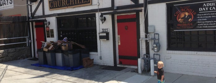 Churchills British Pub is one of 21st Bar Crawl.