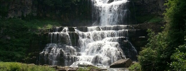 Chittenango Falls State Park is one of Off-Campus Activities.