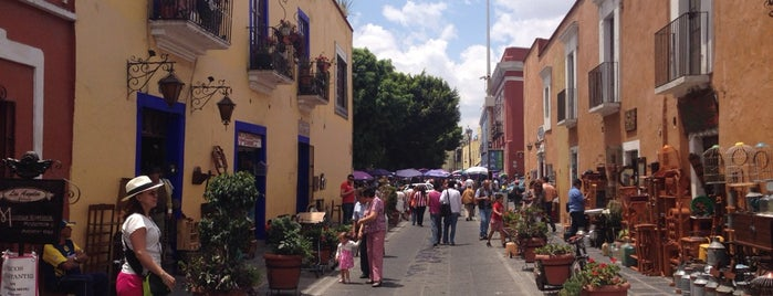 Callejón de Los Sapos is one of Puebla.