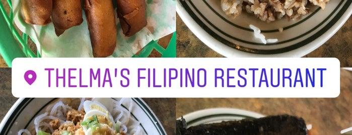 Thelma's Filipino Restaurant is one of Vegas to do.