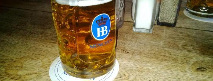 Hofbräu Bierhaus NYC is one of Felicia's Liked Places.