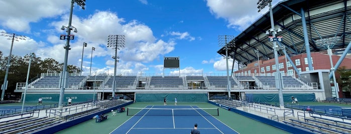 Court 5 - USTA Billie Jean King National Tennis Center is one of Must-visit Stadiums in Flushing.