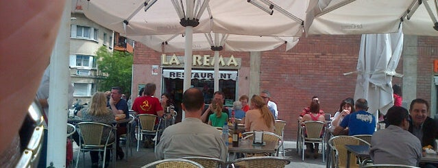 La Crema is one of Barcelona.