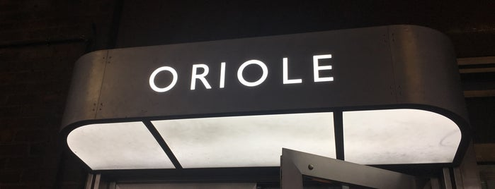 Oriole is one of London.