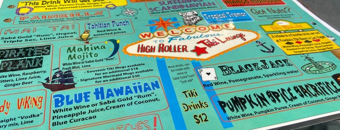High Roller Tiki Lounge is one of Los Angeles.