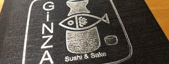 Ginza Sushi & Sake is one of Orte, die Ben gefallen.