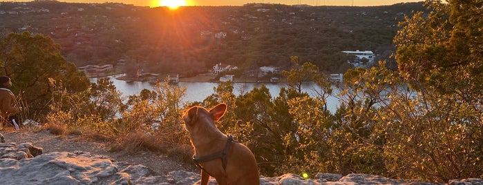Mount Bonnell is one of Austin Memorial Day.