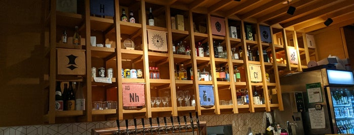 The Periodic Table is one of Great bars 🍸.