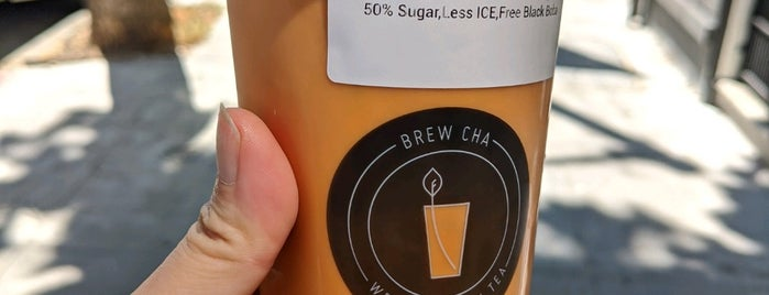 Brew Cha is one of Locais curtidos por Analise.